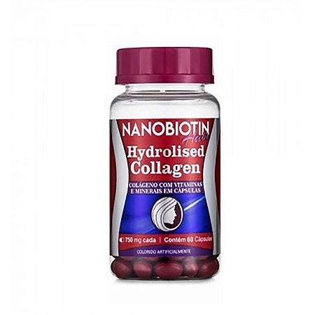 Nanobiotin Hair Colágeno Hidrolisado Vitaminas E Minerais