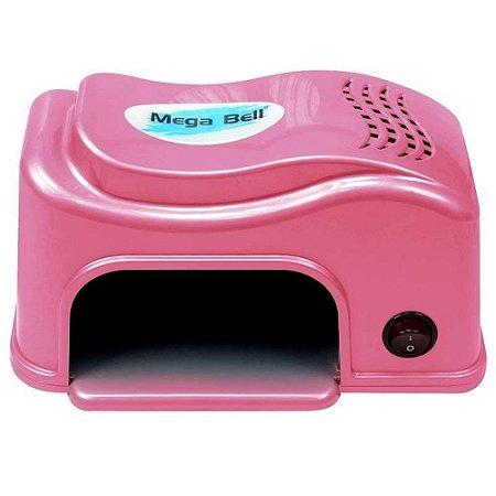Cabine UV Compact Para Unhas De Gel E Acrigel Pink 110v