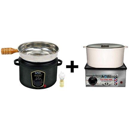 Kit Aquecedor de Toalha Bivolt MegaBell +Aquecedor de Espuma