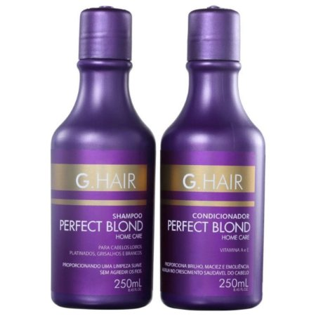 Kit G.Hair Perfect Blond Duo Home Care 2x250ml