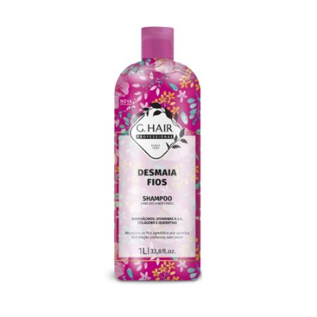 G.hair Shampoo Desmaia Fios 1000ml