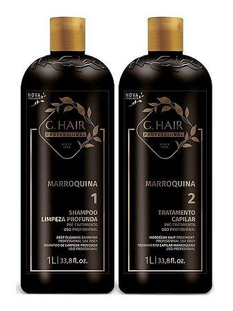 G.hair Escova Progressiva  Marroquina 2x1000ml