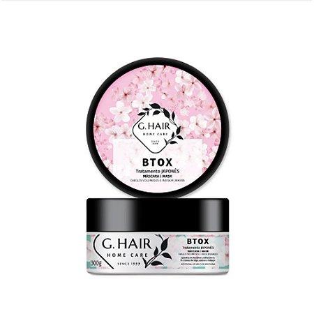 G.Hair Btox Tratamento Japones Mask 300g