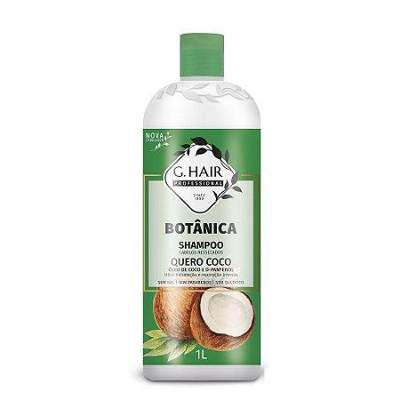 G.hair Botânica Shampoo Quero Coco 1L