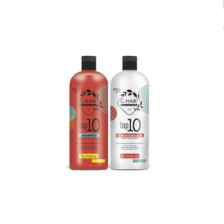 Kit Duo G.Hair Top 10 Shampoo + Condicionador 2x1L