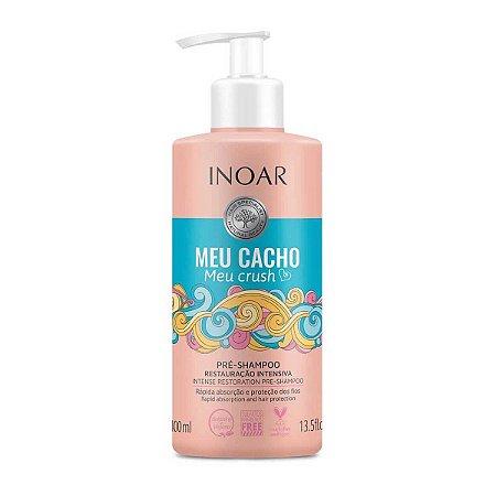 Meu Cacho, Meu Crush Pré-Shampoo Restauração Intensiva 400ml - Inoar
