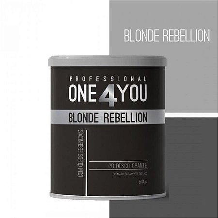 One 4 You Blonde Rebellion Pó Descolorante - 500g