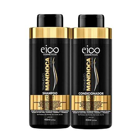 Kit Eico Tratamento Mandioca Duo (2 Produtos) 2x450ml