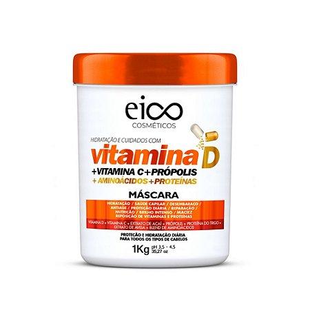 Máscara Capilar Eico Vitamina D - 1kg