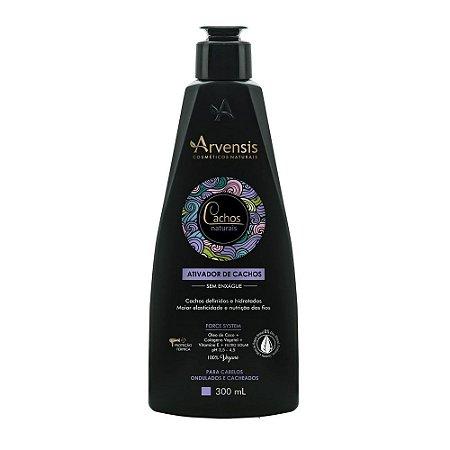 Arvensis Creme Ativador de Cachos Ondulados Vegano - 300ml