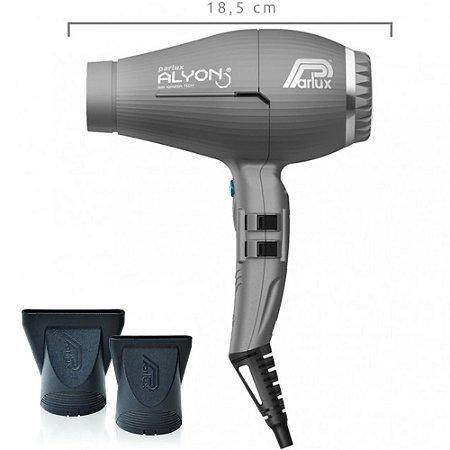 Secador De Cabelo Parlux Alyon Air Ionizer Tech Grafite 220v