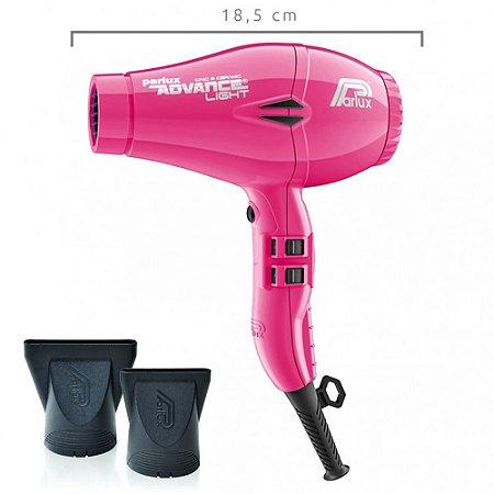 Parlux Secador de Cabelos  Advance Light Rosa 127v