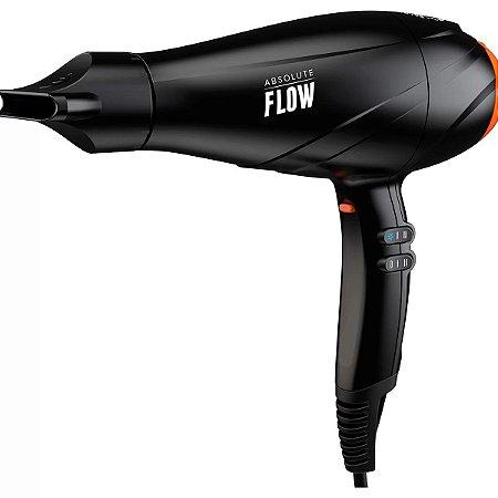 Secador de Cabelo GBS Gama Absolute Flow 2300w Preto 110v