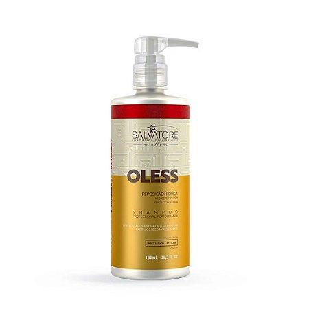 Shampoo Profissional Salvatore Oless Reposição Hídrica 480ml