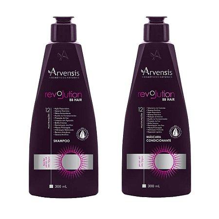 Kit Arvensis Revolution Bb Hair Vegano (Sh+Cond 300ml)