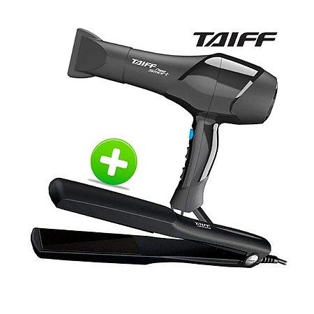 Secador Taiff New Smart 1700w 220v + Prancha Classic 180°c