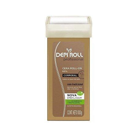 DepiRoll Roll-On de Cera Corporal Tradicional - 100g