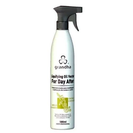 Curl Wave Liquifying Oil Vector For Day After 500ml Cachos - Grandha