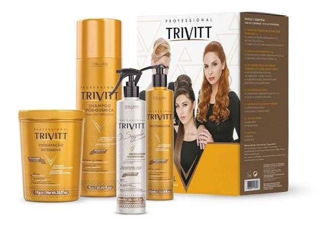 Kit Tratamento Profissional Trivitt Cauterização