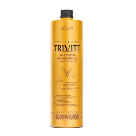 Shampoo Itallian Trivitt Pós-Química Uso Frequente 1000ml