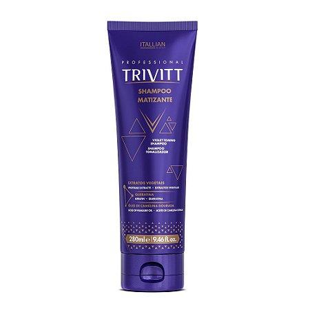 Shampoo Itallian Trivitt Matizante 280ml