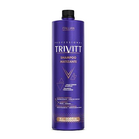 Shampoo Itallian Trivitt Matizante 1000ml