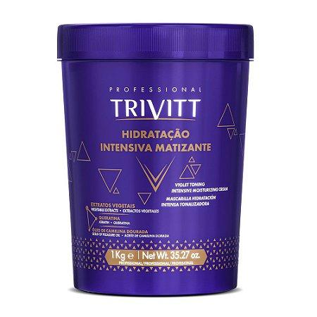 Máscara Itallian Trivitt Hidratação Intensiva Matizante 1kg