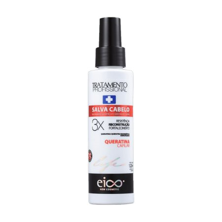 Eico Spray Salva Cabelo Queratina Capilar - 120ml