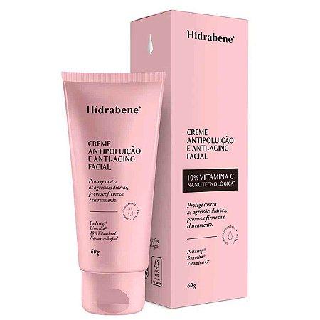 Creme Antipoluição e Anti-Aging Facial Dahuer 60g - Hidrabene