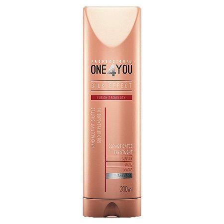 One4you Shampoo Silk Effect Fusion Tecnology 300ml