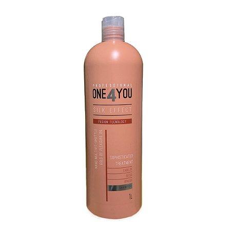 One4you Shampoo Silk Effect Fusion Tecnology 1000ml