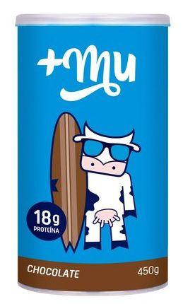Proteína +MU Chocolate pote 450g