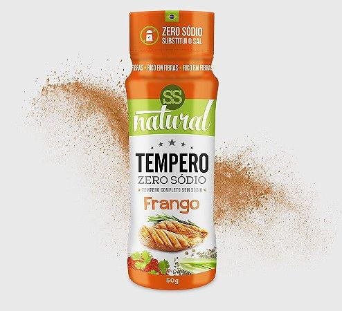 Tempero Zero Sódio Frango 50g - SS Natural