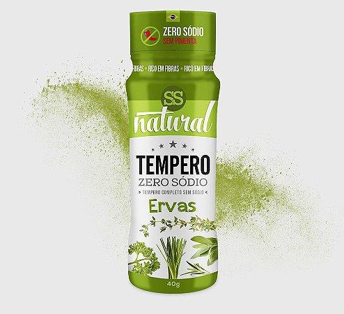 Tempero Zero Sódio Ervas 40g - SS Natural