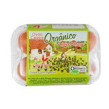 Ovos Caipira Organico Label Rouge c/ 6un