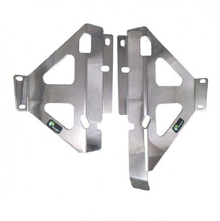 Protetor de Radiador Lateral KXF450 19-21 KXF250 Prata Start