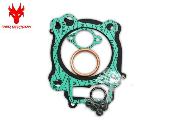 KIT SUPERIOR DE JUNTAS KAWASAKI KXF450 2006 A 2008 C\ RETENTORES DE VÁLVULAS RED DRAGON