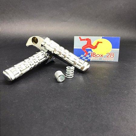 Pedaleira De Aluminio FAZER YBR FACTOR XTZ250 WACS
