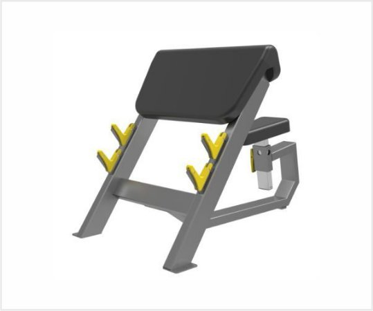 Seated Preacher Curl - Konnen Fitness