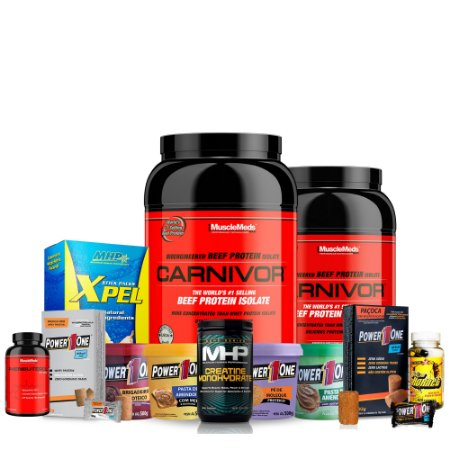 Combo STACKER / MUSCLEMEDS / MHP / POWER 1 ONE
