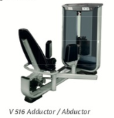 Abductor / Adductor 180lb - Wellness