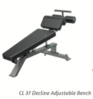Decline Adjustable Bench - Wellness