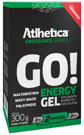 DISPLAY GO ENERGY GEL 10UN-30G MORANGO