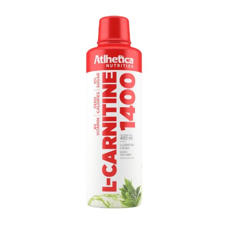 L-CARNITINE 1400 480ML CHA VERDE