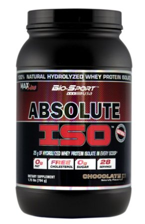 ABSOLUTE ISO WHEY 2LBS CHOCOLATE