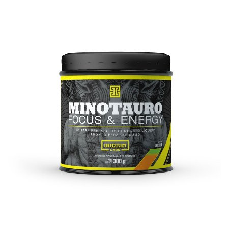 MINOTAURO 300GR (PRE TREINO) LARANJA