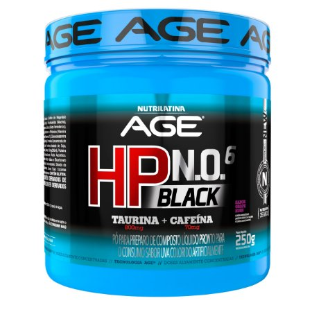 HP BLACK NO6 250GR ARCTIC GRAPE RUSH