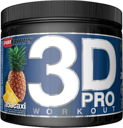 3D PRO WORKOUT 200G ABACAXI