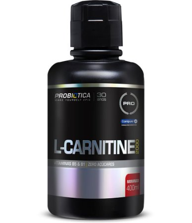 L-CARNITINE 2000 400ML MORANGO
