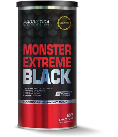 MONSTER EXTREME BLACK 22 PACKS